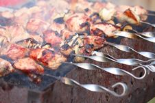 Free Barbecue Meat Stock Photography - 23825842