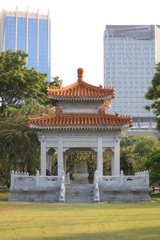 Free Chinese Style Pavilion Royalty Free Stock Image - 23825956