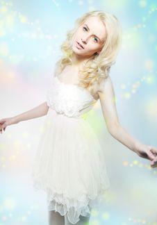 Free Freshness - Sensual Blond Hair Woman Posing Stock Photography - 23826242