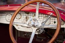 Free Wood Steering Wheel Stock Photos - 23826393