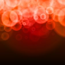 Free Abstract Bubbles Red  Background Royalty Free Stock Photo - 23828255