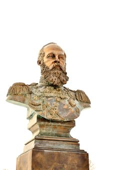 Free Bronze Bust Royalty Free Stock Photo - 23828795
