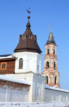 Free Belfry Of  St. Nicholas Monastery Stock Images - 23829074