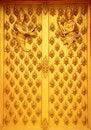 Free Artwork, Wooden Temple Doors. Stock Photos - 23831473