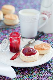 Free Scone Stock Photography - 23831472