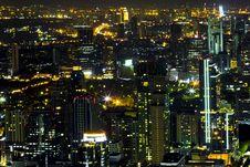 Free Bangkok At Nighttime Stock Images - 23833774