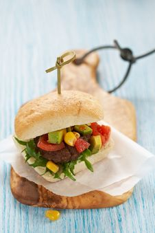 Free Fresh Burger Royalty Free Stock Image - 23836906