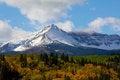 Free Sherburne Peak In The Autumn Color Stock Photos - 23842553