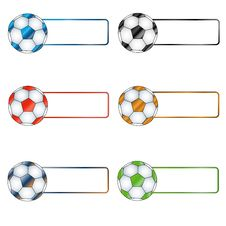 Free Six Multi-colored Balls Stock Images - 23840774