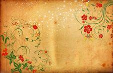 Free Romantic Flower Background Stock Photo - 23841260