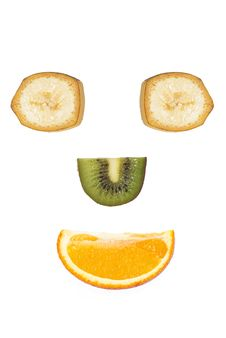 Free Fruit Smiling Face Stock Images - 23841354