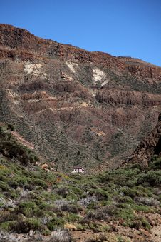 Free Small Old Chapel Between The Slopes Of The Teide V Stock Photo - 23843190