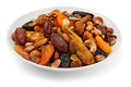 Free Mixed Dry Fruits On A Plate Stock Photos - 23857433