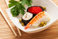 Free Sushi In A Bowl Stock Images - 23857484