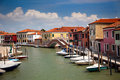 Free Canal With Colorful Houses / Italy / Nobody Stock Photography - 23858872