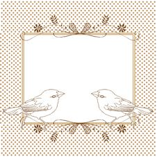 Free Ideal Frame For Any Sort Of Celebration- Card Stock Photo - 23856190