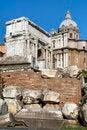 Free The Ruins Of Forum Romano Stock Image - 23867381