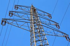 Free Electricity Pylon Stock Image - 23863021