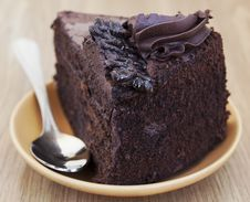 Free Chocolate Cake Royalty Free Stock Photos - 23866748