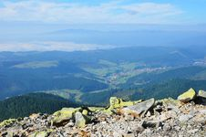 Free Carpathian Mountains From Above. Stock Photo - 23867890