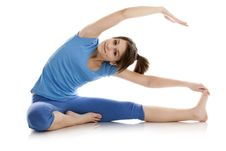 Free Image Of A Girl Practicing Yoga Royalty Free Stock Image - 23869476