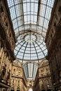 Free Postcard From Milan - Vittorio Emanuele Gallery Royalty Free Stock Photos - 23871558