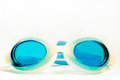 Free Blue Swimming Goggles Stock Photos - 23878593