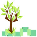 Free Origami Tree Royalty Free Stock Images - 23878889