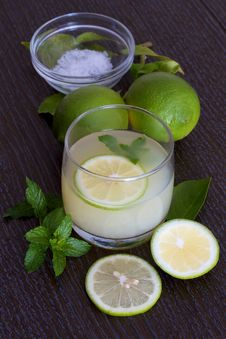 Free Fresh Lemonade Or Mojito Royalty Free Stock Images - 23871229