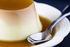 Free Caramel Cream Close Up Stock Images - 23872274