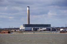 Free A Coastal Power Station Royalty Free Stock Photo - 23874015