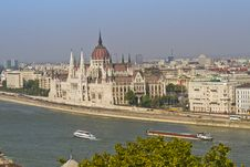 Free Parliament In Budapest, Hungary, Europe Stock Photography - 23875152