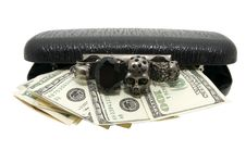 Free Clutch And Money Stock Image - 23876301