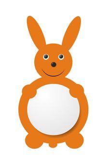 Price Tag Bunny Royalty Free Stock Photos