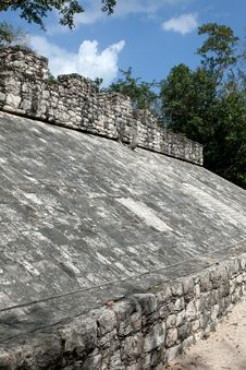 Free Ancient Mayan Ball Court Stock Photography - 23879582