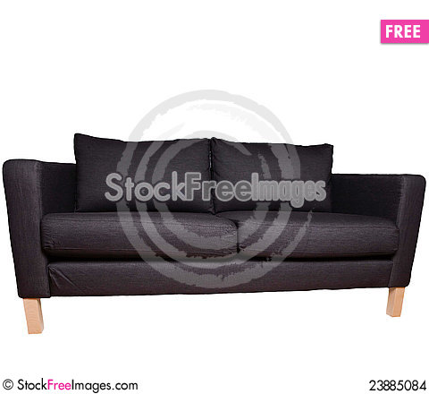 Free Sofa Isolated On White Stock Images - 23885084