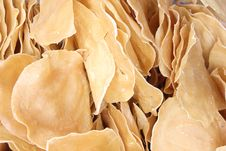 Free Indonesian Raw Crackers Or Kerupuk Royalty Free Stock Photo - 23881935