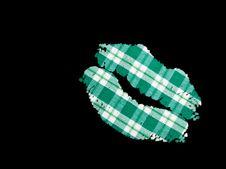 Free Lucky Irish Lips Royalty Free Stock Images - 23882079