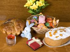Free Holiday Arrangement To Easter Stock Photos - 23882203