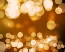 Free Yellow Bokeh Background Royalty Free Stock Photos - 23884168