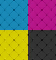 Free Four  Buttoned Leather Pattern Stock Image - 23884871