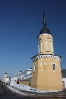 Free Russia. The Tower Of The New Golutvin Monastery Stock Photography - 23885842