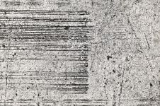 Concrete Wall With Panel Stripe Royalty Free Stock Photo