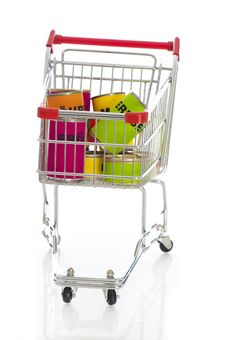Free Shopping Cart Stock Images - 23888874
