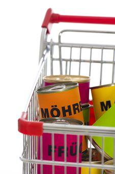 Free Shopping Cart Royalty Free Stock Photos - 23888898