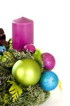 Free Advent Wreath Stock Image - 23889251