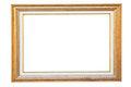 Free Vintage Gold Wood Frame Royalty Free Stock Images - 23896279