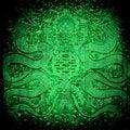 Free Dragon On Grunge Background Stock Photography - 23896522