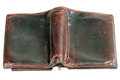 Free Old Leather Purse Royalty Free Stock Photos - 23897358
