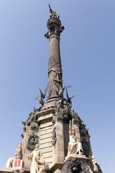 Statue Of Colon Stock Image